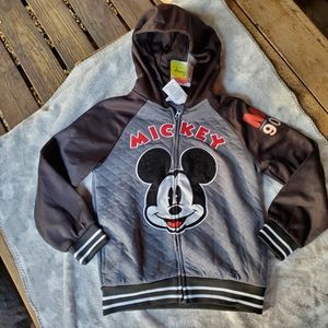 Disney Mickey Mouse Jacket NWT Size 7